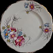 Royal Albert Cosmos Tea Plate Vintage English Bone China