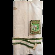 1920s Cotton Sheeting Fabric Yardage Uncut 10 Yards