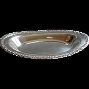 Silver Bread Tray Vintage Camelot Pattern International