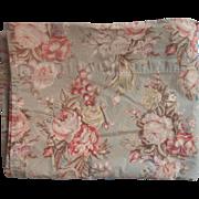 Charlotte Print Cotton Vintage Twin Top Flat Sheet Ralph Lauren