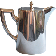 Hotel Silver Berlin Hot Water Coffee Pot Antique to Vintage 1910s to 1930s