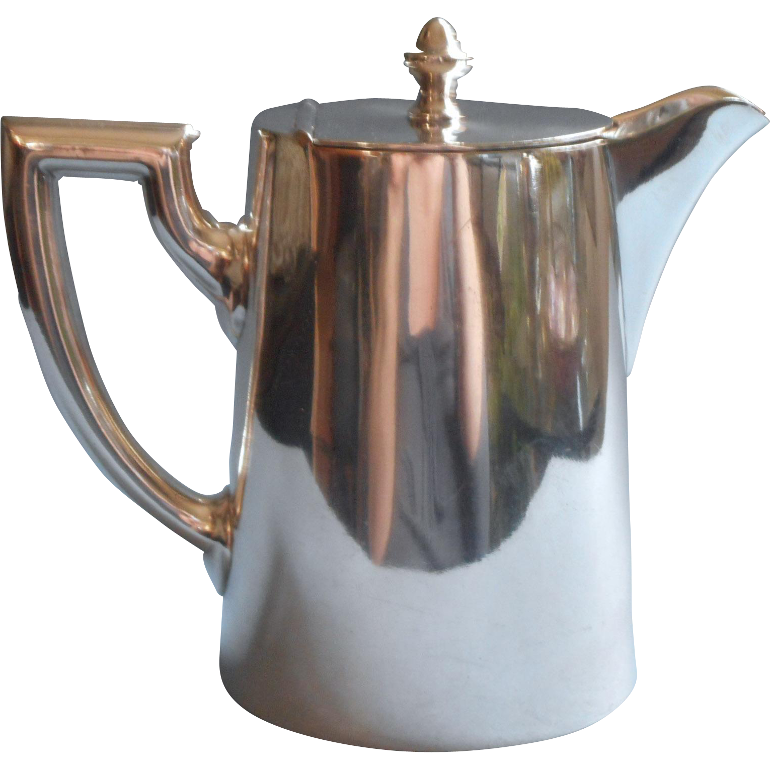 hotel silver berlin hot water coffee pot antique to vintage 1910s to from mercymaude on ruby lane. Black Bedroom Furniture Sets. Home Design Ideas