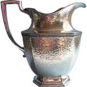 1924 Golf Trophy Silver Vintage Water Pitcher Metropolitan Golf Roamers Montauk