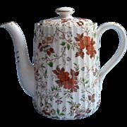 English Bone China Radfords The Gatineau Coffee Pot Teapot Vintage