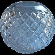 Rose Bowl EAPG Pressed Glass Antique Diamond Points Variant or York