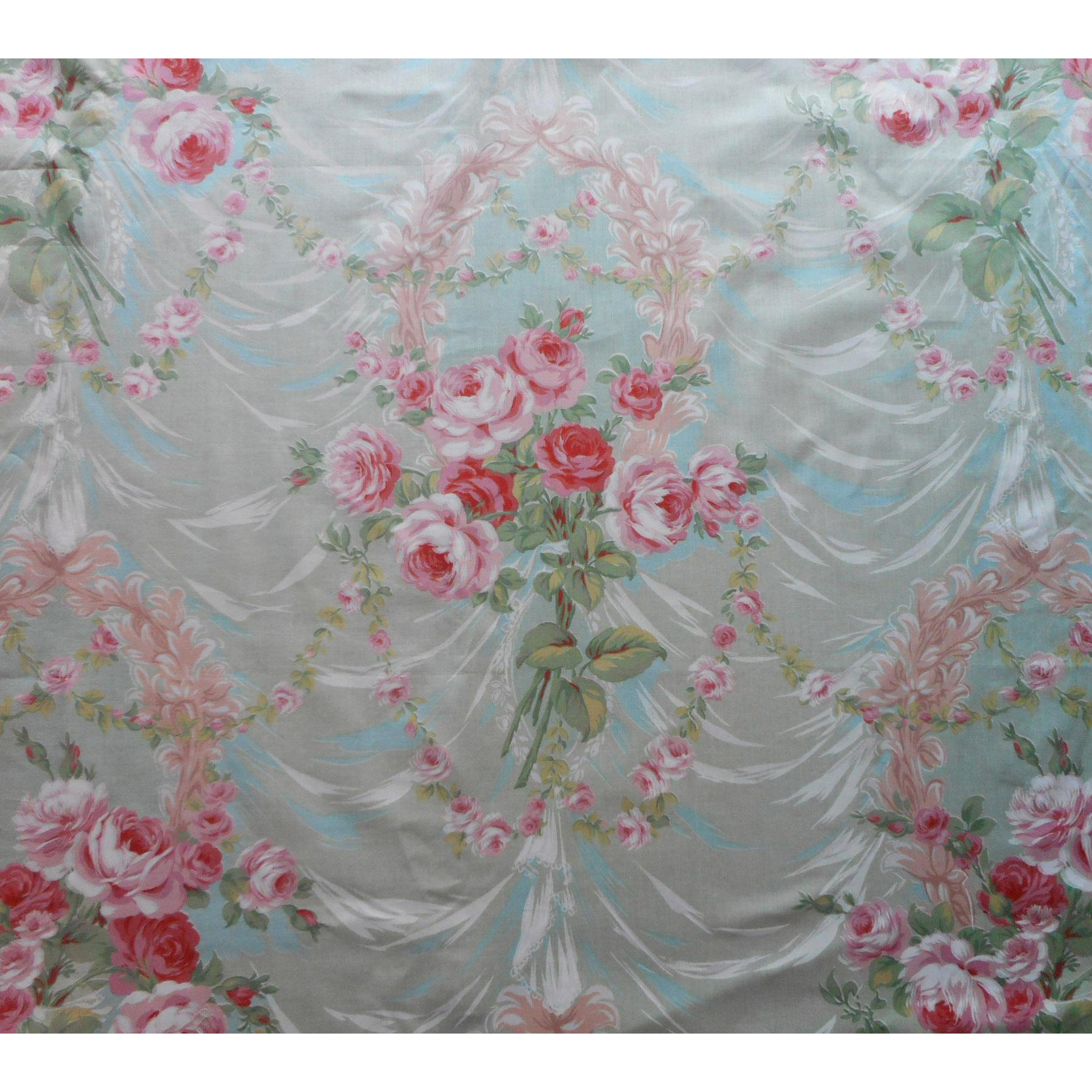 Scalamandre vintage chintz fabric marie antoinette yardage for Chintz fabric