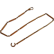 Watch Fob Chain Links Antique TLC