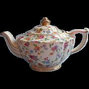 Sadler 1930s Chintz China Teapot Vintage