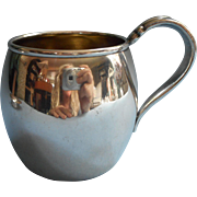 Flair 1956 Baby Cup Vintage Silver Plated Mug 1847 Rogers Brothers