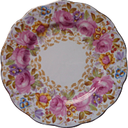 Royal Albert Serena Bread Plate Vintage English Bone China Dated 1942