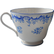 Shelley Heavenly Blue Cup Only Vintage English Bone China