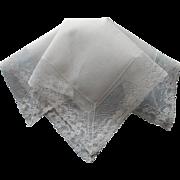 Vintage Hankie Lace Linen