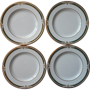 Royal Doulton Forsyth 4 Bread Plates English Bone China Vintage