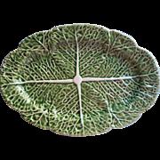 Bordallo Pinheiro Cabbage Leaf Platter