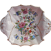 Aynsley Pembroke Square Dish Sweetmeats Candy Relish Trinket