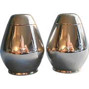 Gorham Sterling Silver Midcentury Salt Pepper Shakers Model 774 Pair