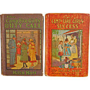 Antique Camp Fire Campfire Girls Book Books Success and Duty Call Helen Hart