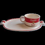 Vintage Westwood Campbell's Tomato Soup Plate Mug Set China