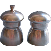 Vintage Pewter Italy Salt Shaker Pepper Mill