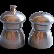 Vintage Pewter Italy Salt Shaker Pepper Mill