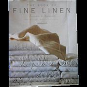 The Book Of Fine Linen Francoise De Bonneville Flammarion