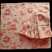 Fairdale Pattern Napkins Ralph Lauren Set 8