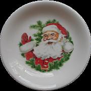 Vintage Syracuse China Santa Claus Small Dish Christmas Midcentury