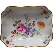 Derby Posies Royal Crown Cerby Pin Dish Vintage Bine China English