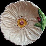Carlton Ware Poppy Small Dish Vintage English China Teabag Nut Trinket