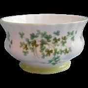 Royal Albert Shamrock Open Sugar Bowl Vintage English Bone China