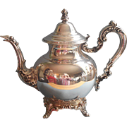 Royal Provincial Teapot Vintage Oneida Silver Plated