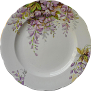 Royal Standard Wistaria Tea Plate Vintage English Bone China Wisteria Flowers