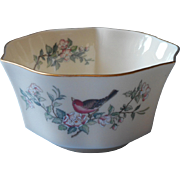 Lenox Serenade Vintage China Bowl Fluted USA Made