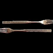 Capri Vintage Stainless Steel Oneida 2 Seafood Forks