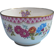 Royal Worcester Amelia Individual Open Sugar Bowl Vintage English Bone China