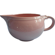Luray Pastels Pink Creamer Vintage China Taylor Smith Taylor