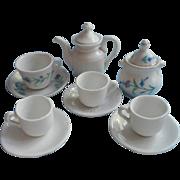 Victorian Child Doll Tea Set Pieces Antique China Miscellaneous