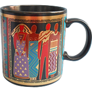Laurel Burch Vintage Mug Tribal Spirit 1988