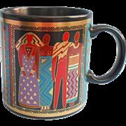 Laurel Burch Vintage Mug Tribal Spirit 1988