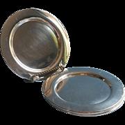 Vintage Silver Plated Cocktail or Dessert Plates Oneida Set 4