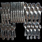 Vintage Stainless Steel Set Flatware Mansfield Wm. A. Rogers Oneida