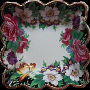 Paragon Westdale Vintage English Bone China Trinket Dish Square