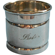 Bob Engraved On Antique Child's Cup Silver Plated Derby Mug