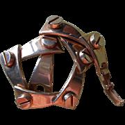 Vintage Sperry Bracelet Cleat And Bolt Motif