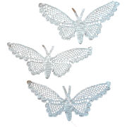 Antique Lace Butterflies Late 1910s Crocheted