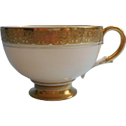 Paragon Cup Very Vintage Gold Encrusted Cream China