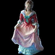 Paragon Lady Anne Figurine Vintage English Bone China Hand Painted