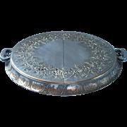 1920s Trivet Silver Plated Vintage Apollo Dutchardt Dutch Motifs Expanding