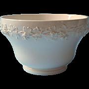 Wedgwood Cranberry Bowl Queensware Cream On Cream Pattern 2243 Vintage