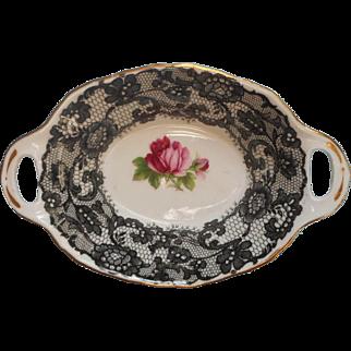 Royal Albert Senorita Sweetmeats Dish Vintage English Bone China Candy Nuts Lemon